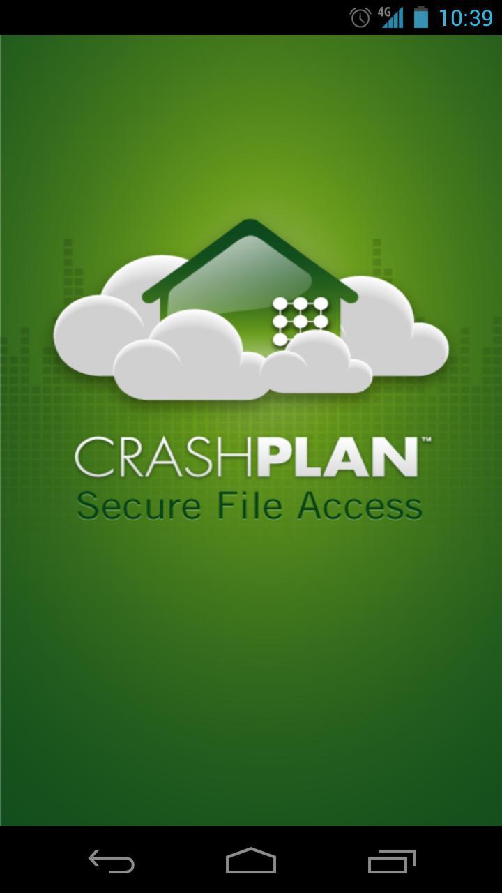 CrashPlan mobile app
