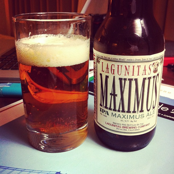 Lagunitas Maximus IPA - photo by Yue Tian