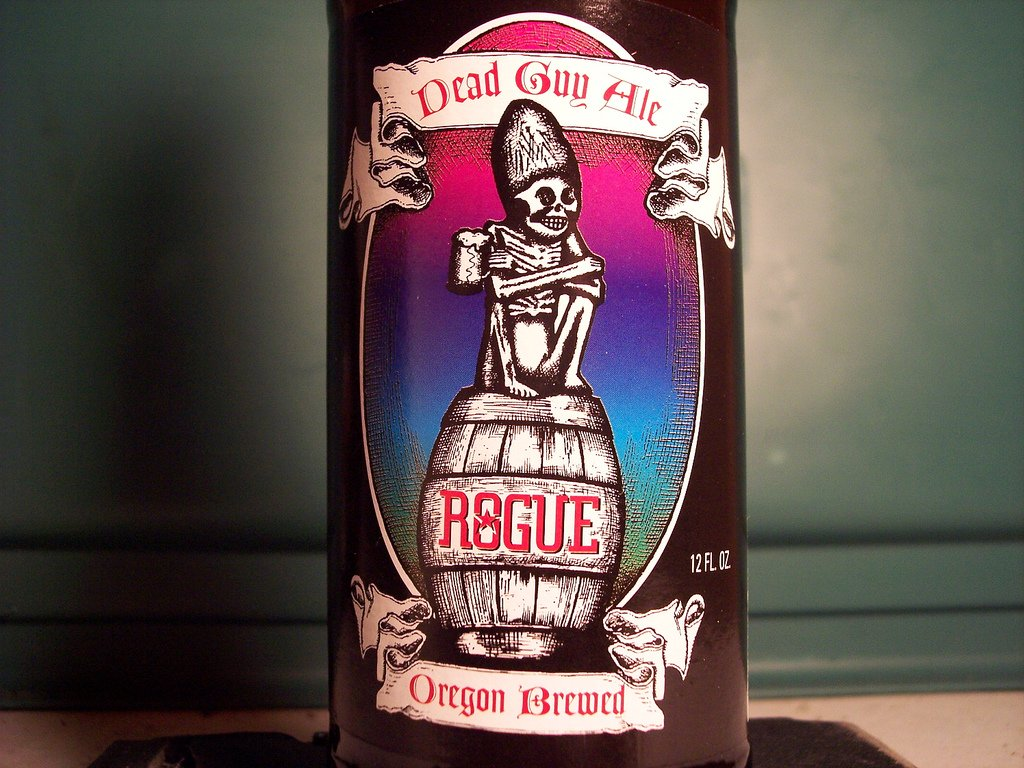 Rogue - Dead Guy Ale - photo by Drew Allen