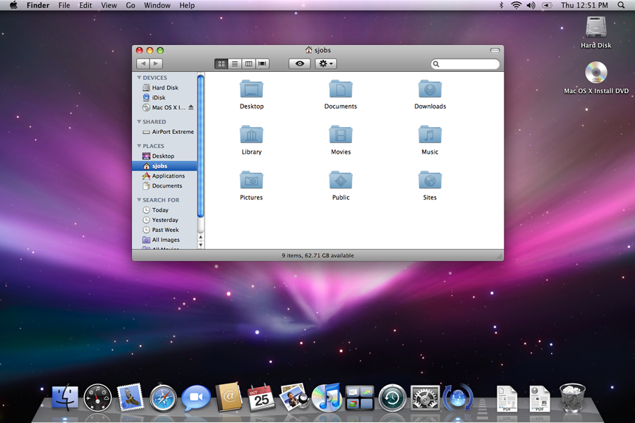 how to change icons on top bar mac